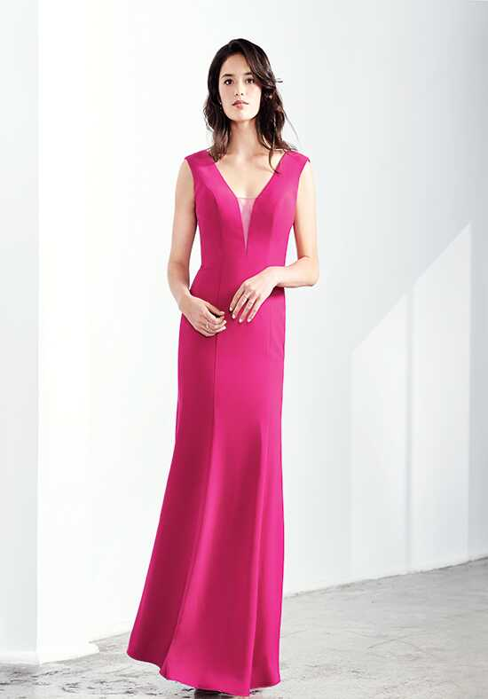 Colour by Kenneth Winston 5270L V-Neck Bridesmaid Dress