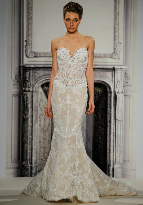 Pnina Tornai for Kleinfeld 4264 Mermaid Wedding Dress