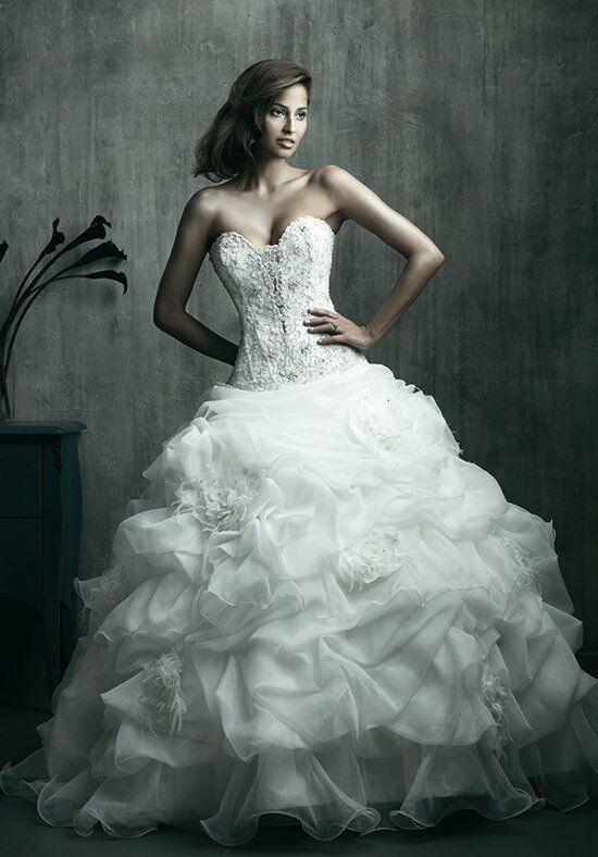Allure Couture C170 Ball Gown Wedding Dress