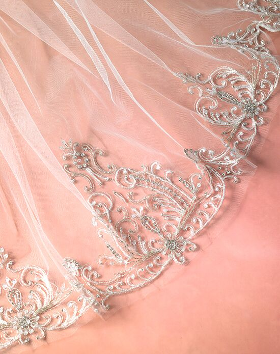 Bliss by Blossom Veils BVL10002 Ivory Veil