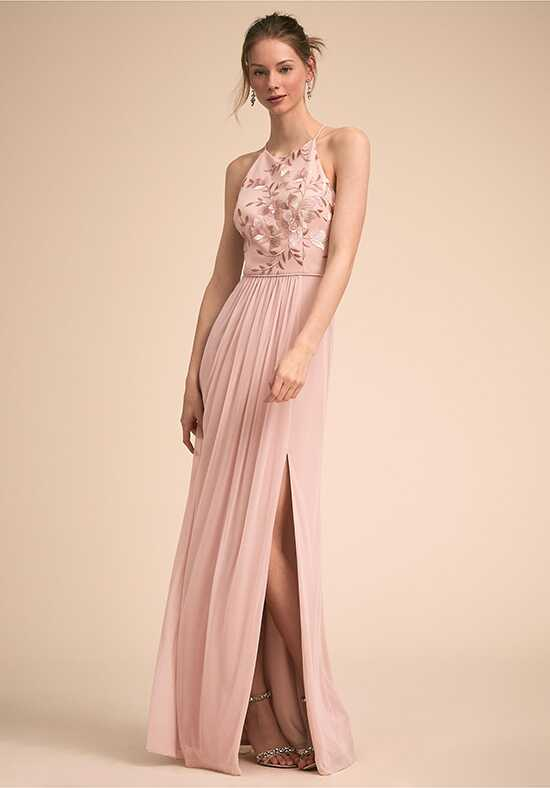 BHLDN (Bridesmaids) Carine Dress Halter Bridesmaid Dress