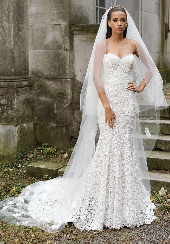 Justin Alexander Signature 9867 Mermaid Wedding Dress