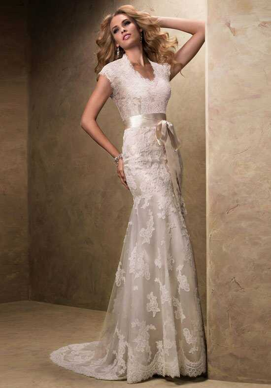 A line wedding dresses for Maggie sottero grace kelly wedding dress