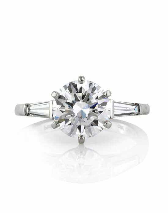 Mark Broumand Classic Cut Engagement Ring