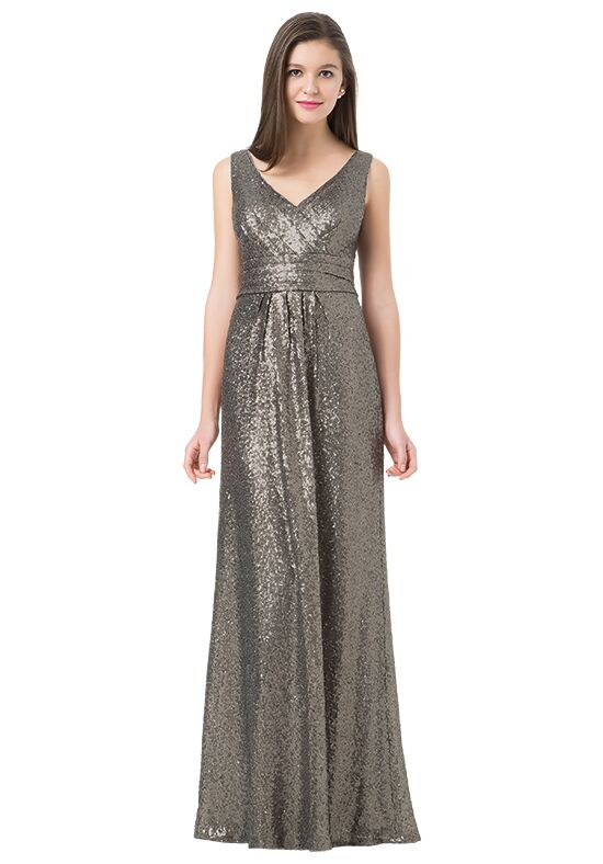 Bill Levkoff 1233 V-Neck Bridesmaid Dress