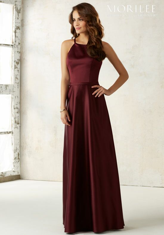 Morilee by Madeline Gardner Bridesmaids 21517 Halter Bridesmaid Dress