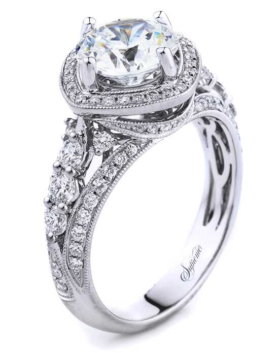 Supreme Jewelry SJ157640 Engagement Ring photo