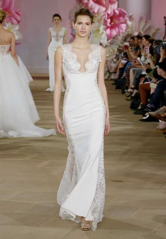 Ines Di Santo Sultry Sheath Wedding Dress