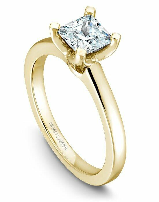Noam Carver B038-02YS-100A Engagement Ring photo