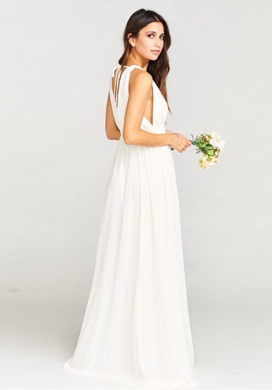 Show Me Your Mumu Ava Maxi Dress - Wedding Cake Chiffon Bridesmaid ...
