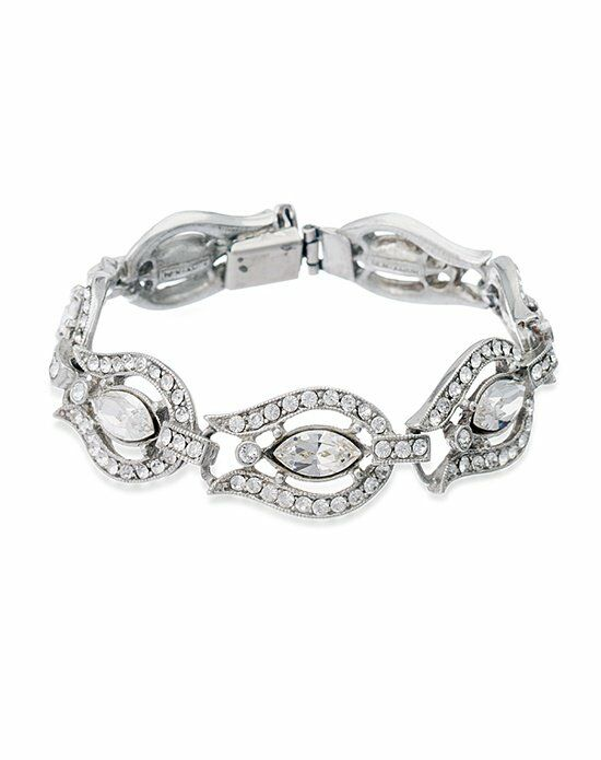 Thomas Laine Ben-Amun Belle Époque Crystal Bracelet Wedding Bracelet photo