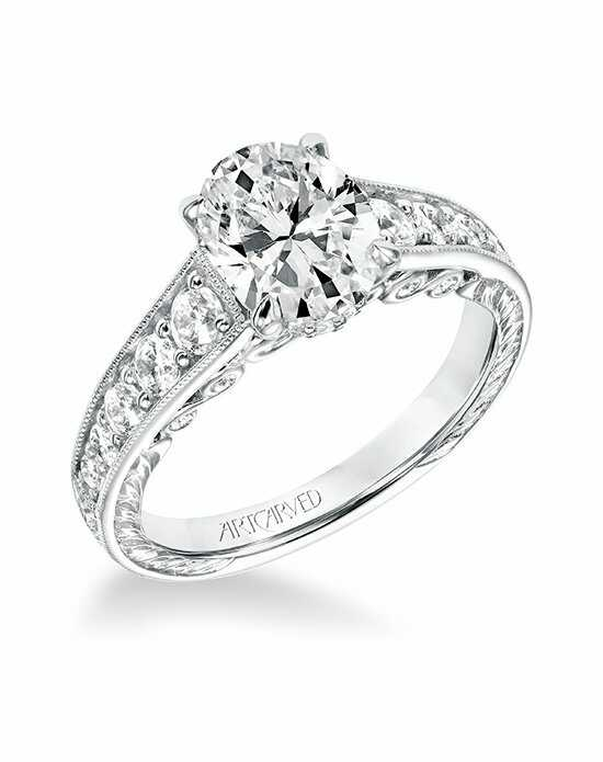ArtCarved 31-V693GVW-E Engagement Ring photo