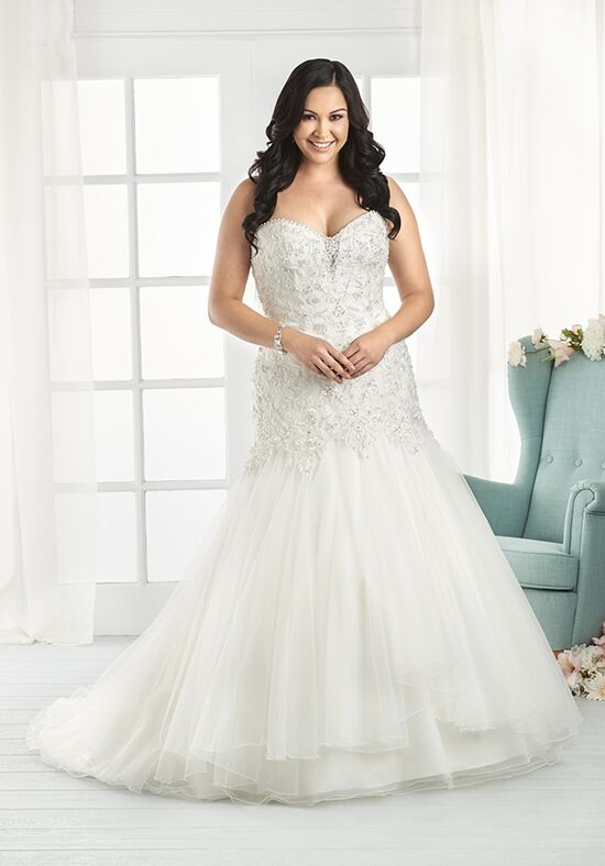 Unforgettable by Bonny Bridal 1812 Mermaid Wedding Dress