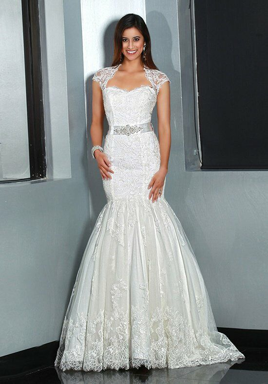 DaVinci Bridal 50194 Mermaid Wedding Dress