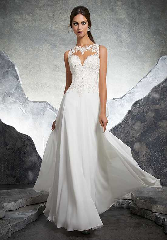 Morilee by Madeline Gardner/Blu Keisha/5606 Sheath Wedding Dress