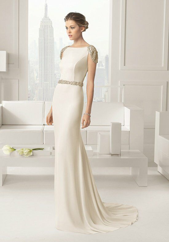 Rosa Clará SABOYA Sheath Wedding Dress