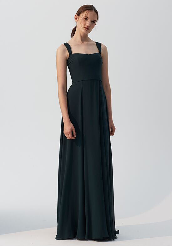 Amsale Bridesmaids Alexis Square Bridesmaid Dress