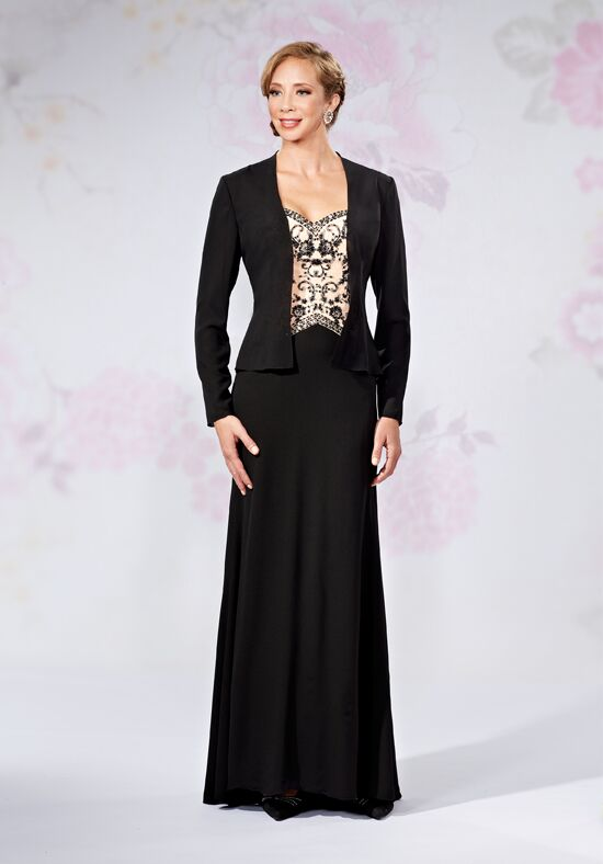 Beautiful Mothers by Mary's M2723 Black Mother Of The Bride Dress