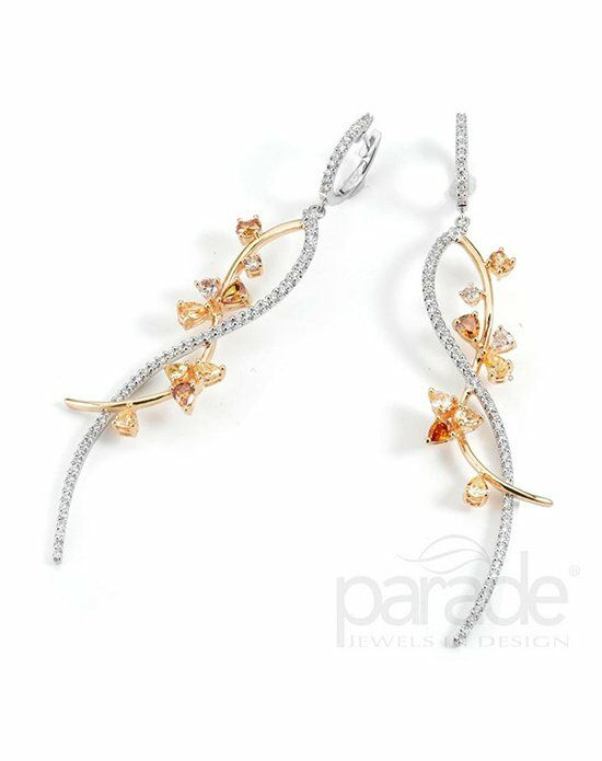 Parade Designs E2254A from the Reverie Collection Wedding Earring photo