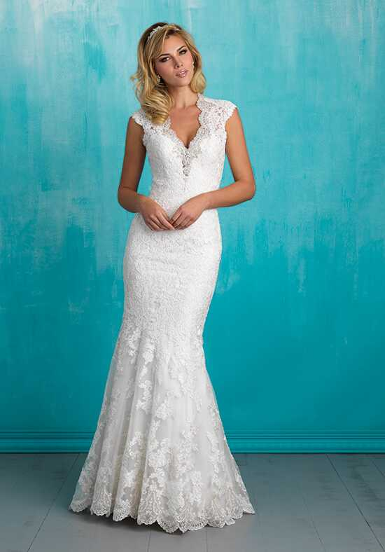 Allure Bridals 9318 Sheath Wedding Dress