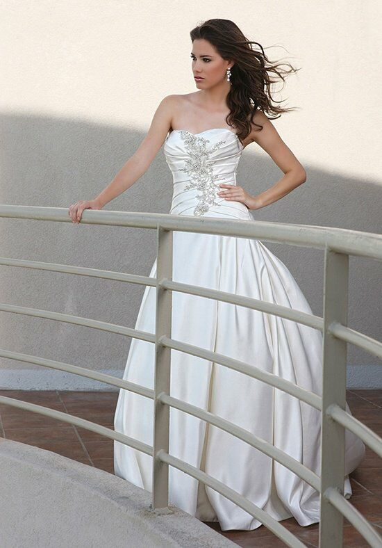 DaVinci Bridal 50250 Ball Gown Wedding Dress
