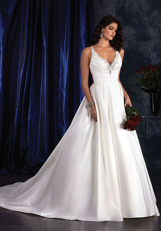 Alfred Angelo Sapphire Bridal Collection 406 Ball Gown Wedding Dress