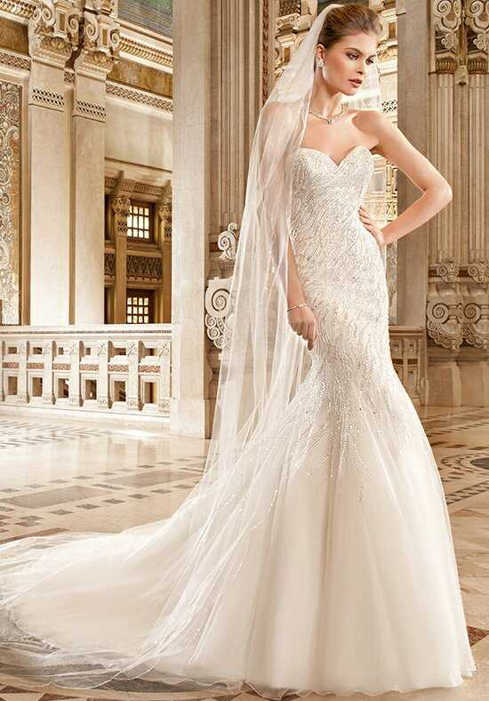 Demetrios 573 Mermaid Wedding Dress