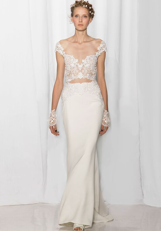 Reem Acra 5614 Sheath Wedding Dress