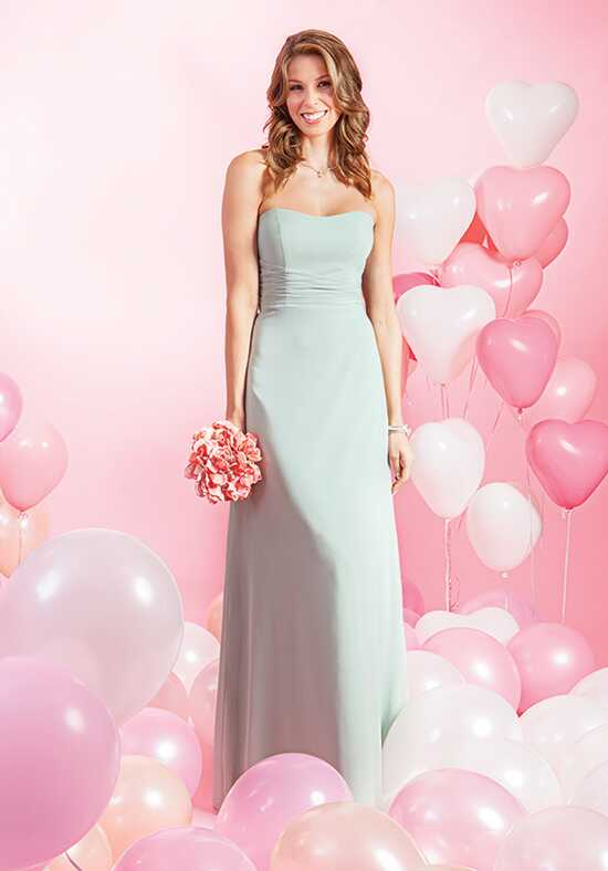 Alfred Angelo Signature Bridesmaids Collection 7386L Neckline Bridesmaid Dress