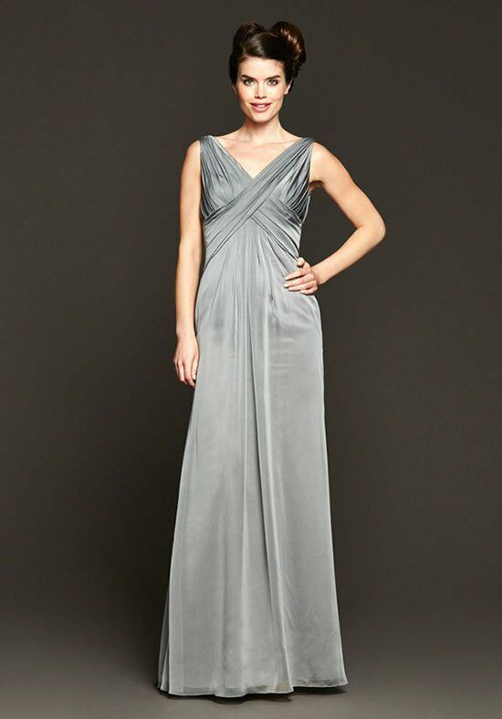 Badgley Mischka BM15-4 V-Neck Bridesmaid Dress