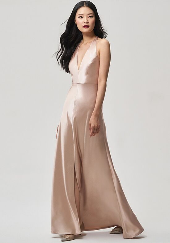Jenny Yoo Collection (Maids) Corinne V-Neck Bridesmaid Dress