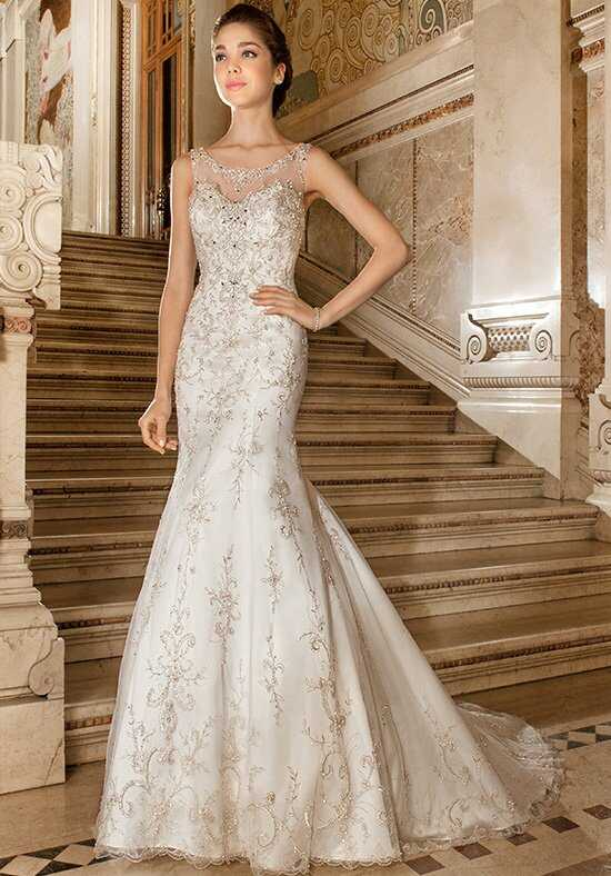 Demetrios 4326 Sheath Wedding Dress