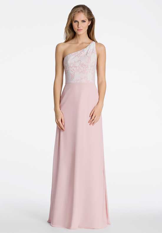 Hayley Paige Occasions 5606 One Shoulder Bridesmaid Dress