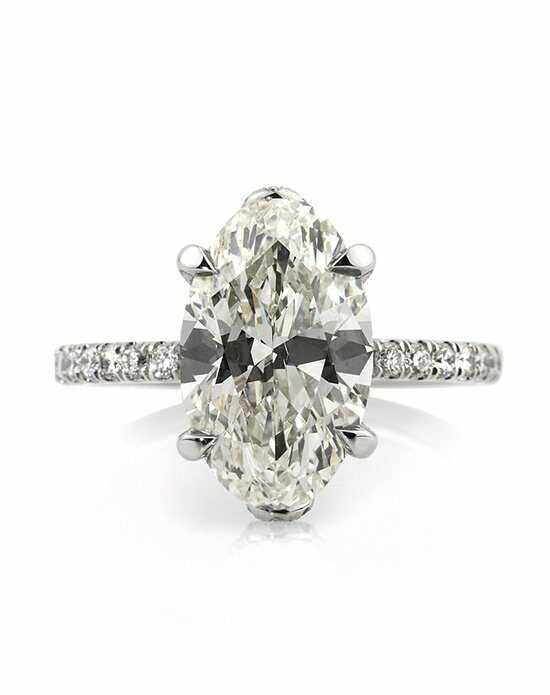 mark broumand 509ct oval cut diamond engagement anniversary ring - Oval Wedding Rings