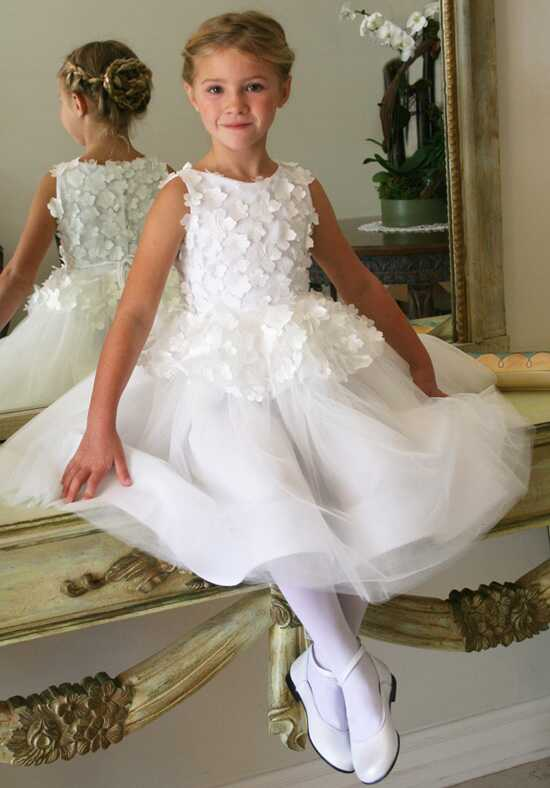 Isabel Garretón Fairy White Flower Girl Dress