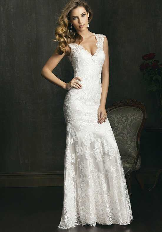 Allure Bridals 9068 Sheath Wedding Dress