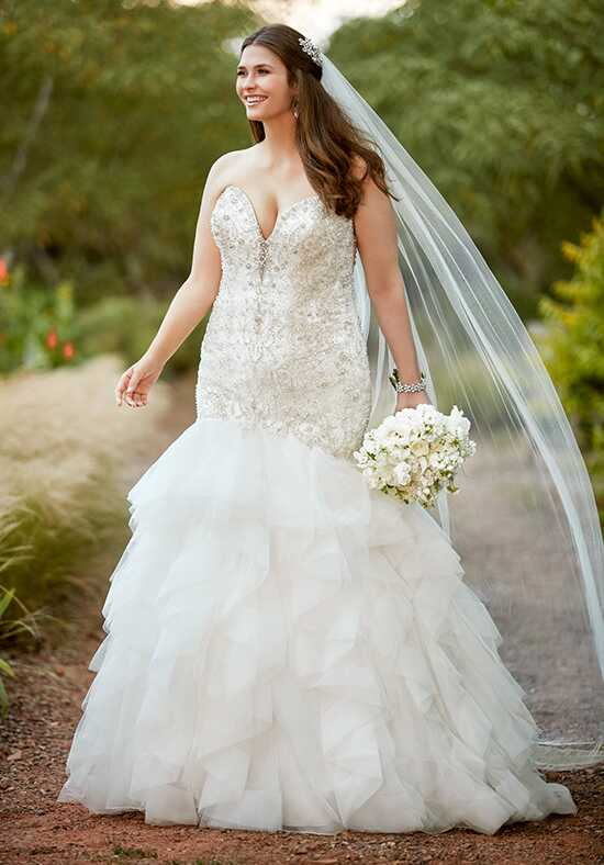 Essense of Australia D2389 Mermaid Wedding Dress