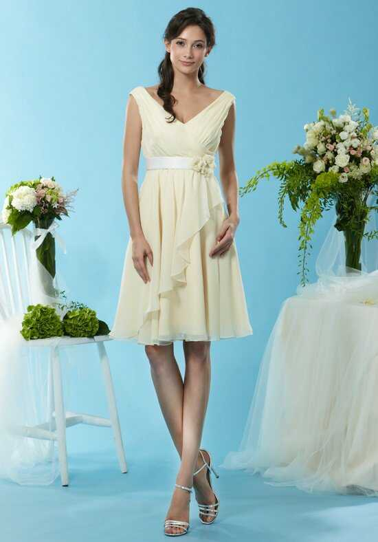 Eden Bridesmaids 7440 V-Neck Bridesmaid Dress