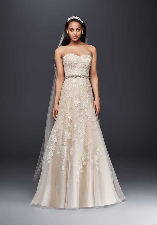 David's Bridal David's Bridal Collection Style V3587 A-Line Wedding Dress
