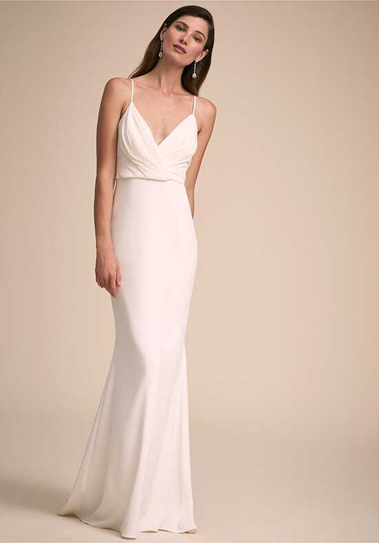 BHLDN At Last Gown Sheath Wedding Dress