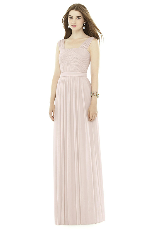 Alfred Sung D718 Square Bridesmaid Dress