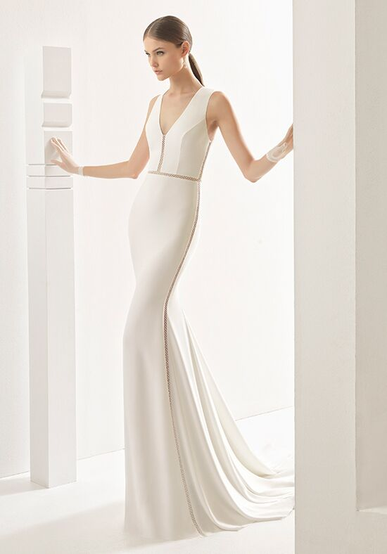 Rosa Clará Nevada Sheath Wedding Dress