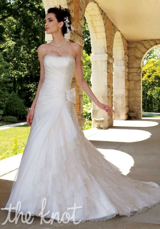 David Tutera for Mon Cheri 111202 Jill A-Line Wedding Dress