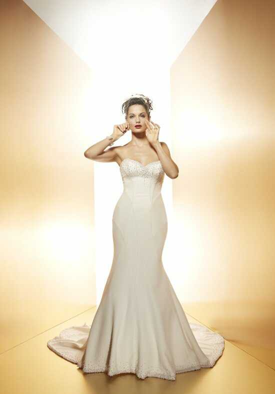 Matthew Christopher Chanel Wedding Dress