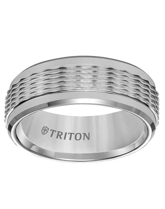 Triton 11-5938C8-G.00 Tungsten Wedding Ring