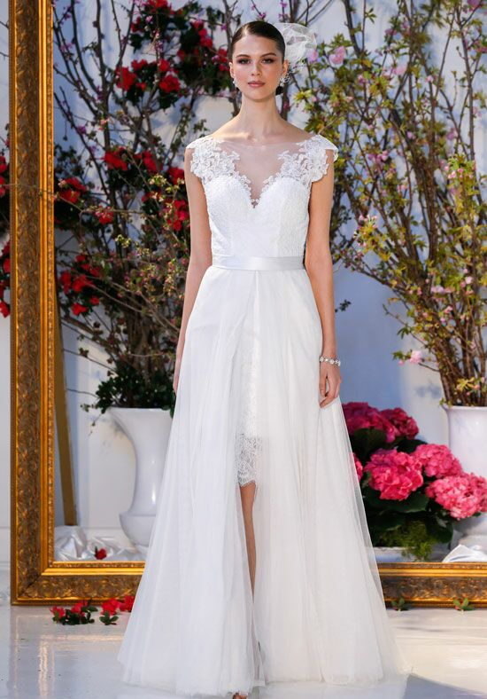 Blue Willow Bride by Anne Barge Calla Sheath Wedding Dress