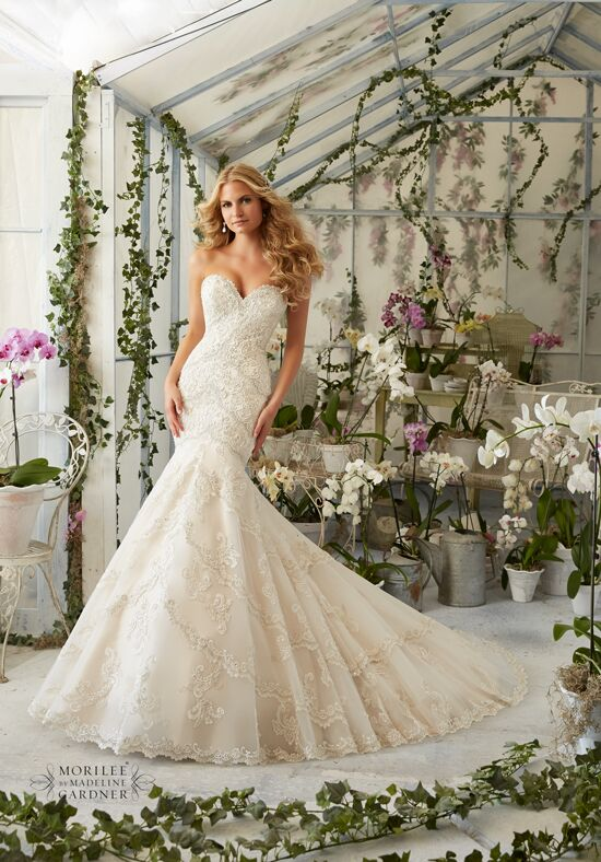 Morilee by Madeline Gardner 2801 Mermaid Wedding Dress