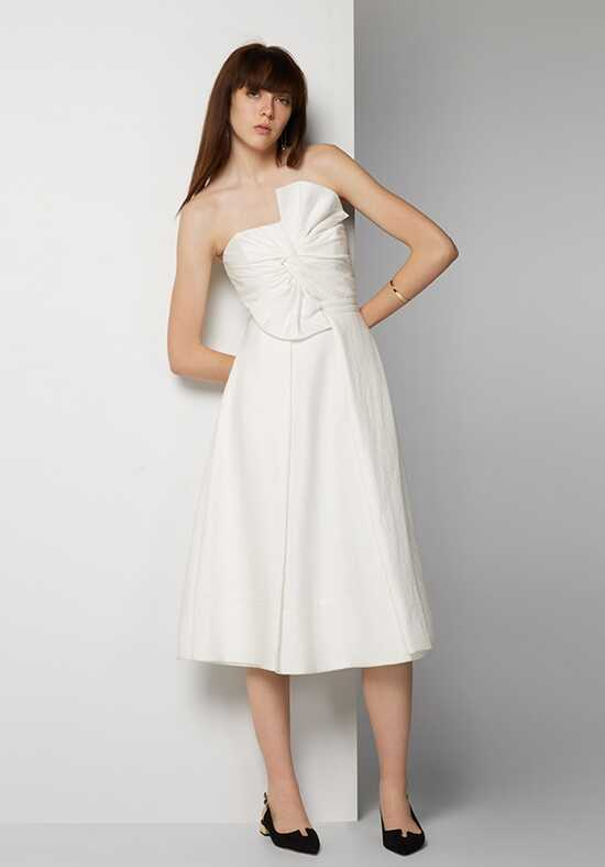 Fame and Partners Bridesmaid Shaylyn Strapless Bridesmaid Dress