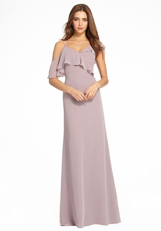 Monique Lhuillier Bridesmaids 450522 Off the Shoulder Bridesmaid Dress