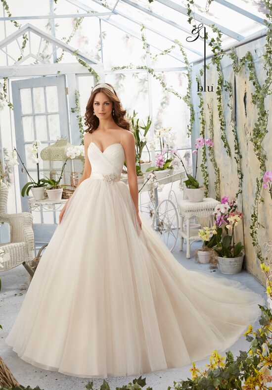 Blu by Madeline Gardner 5408 Wedding Dress photo